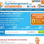 Nom de domaine gratuit TopHebergement