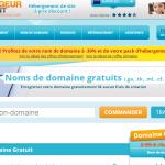 Nomde domaine gratuit Hebergeur_Discount