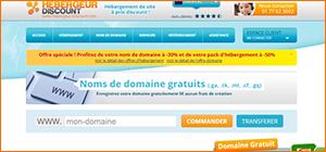 Fournisseur domaine gratuit Hebergeur-Discount
