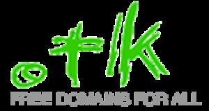 nom de domaine gratuit tk